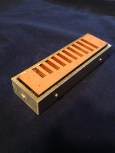 sanding jig with comb